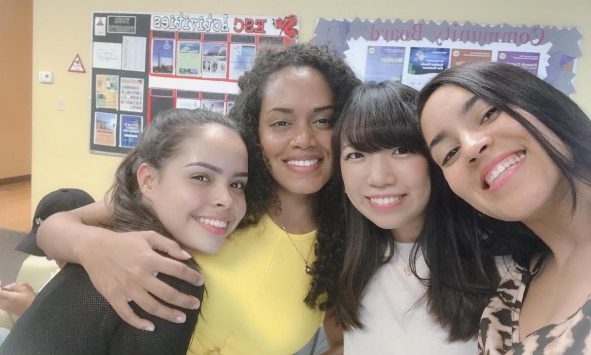 語学学校の友達