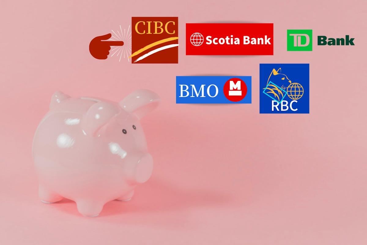 トロントの5大銀行
