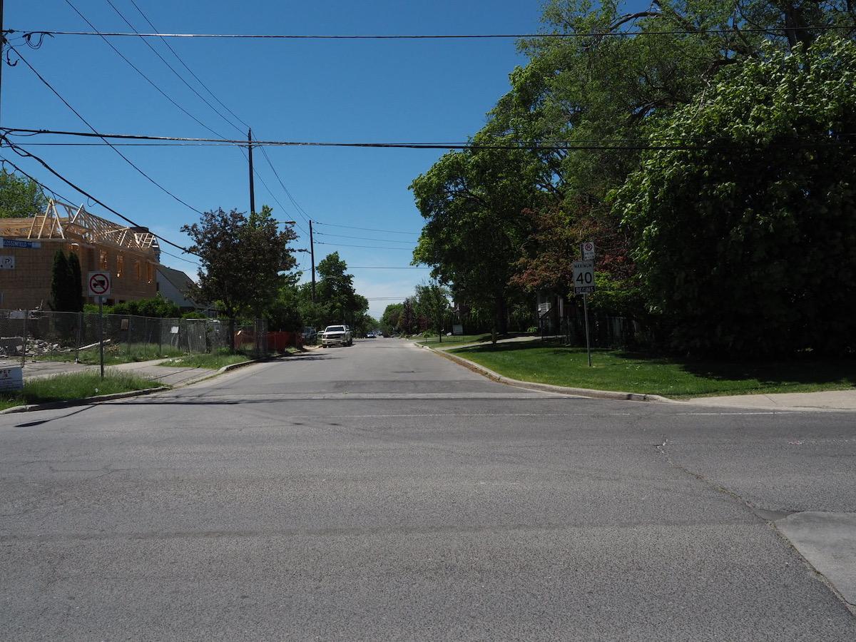 トロントの道