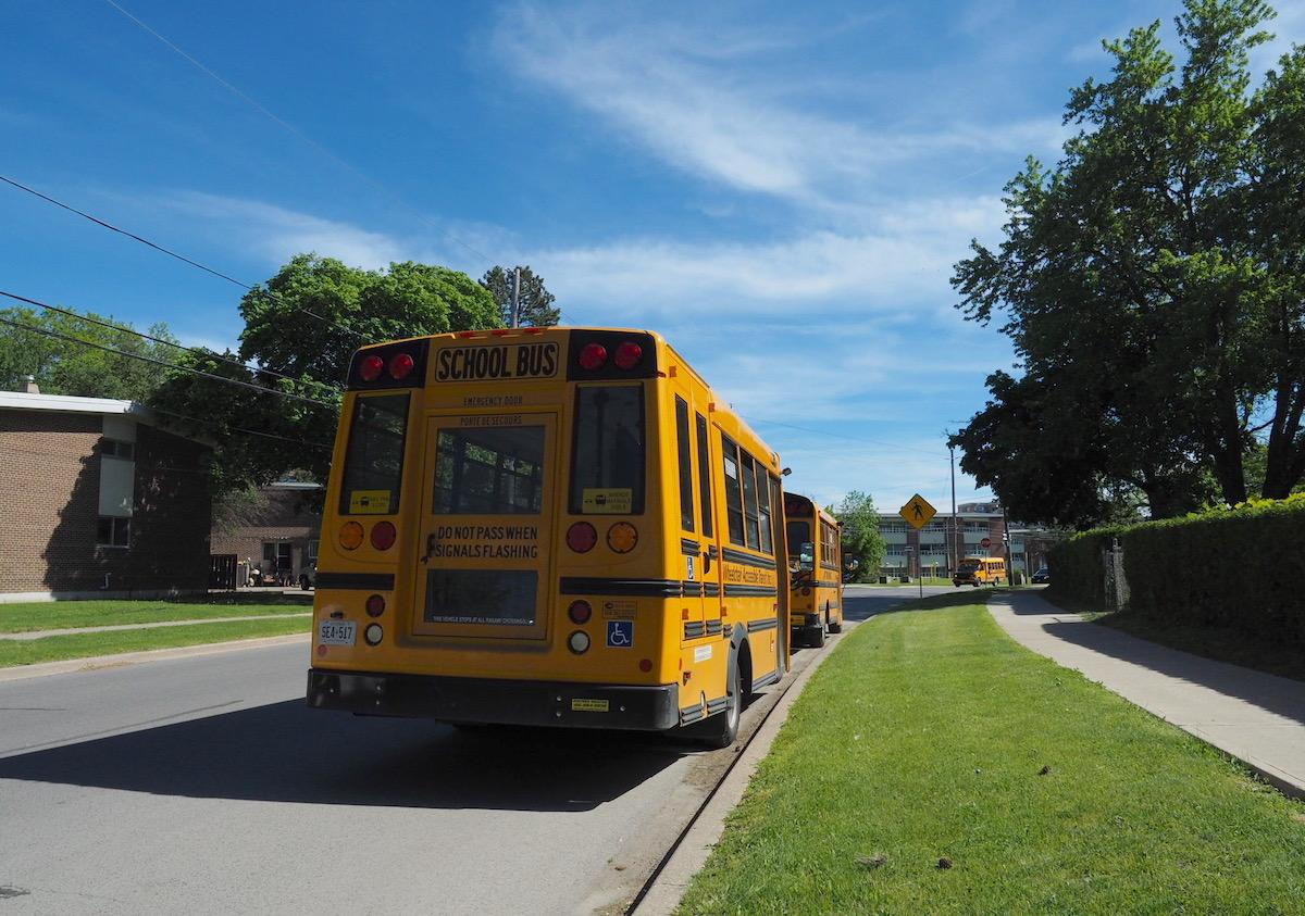 トロントのスクールバス