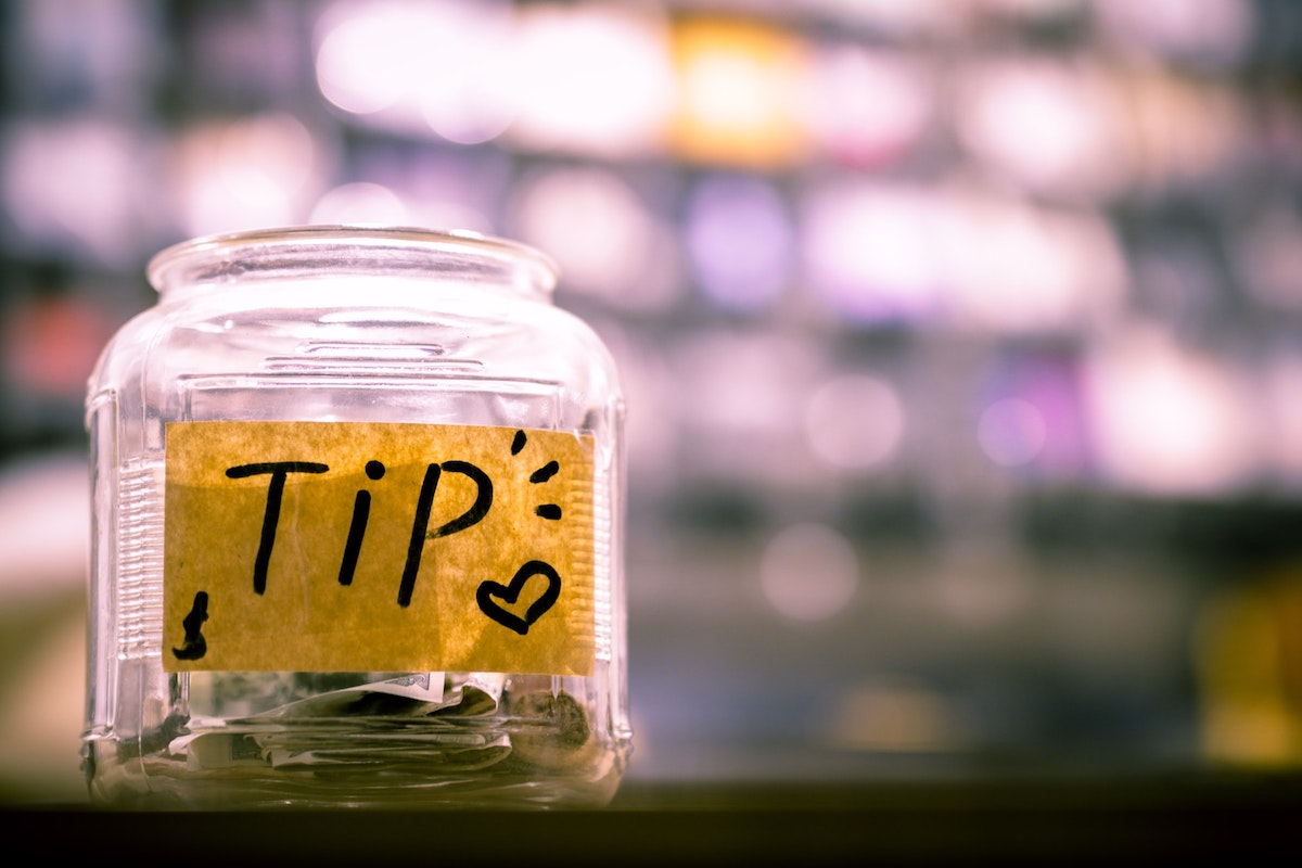 Tipの入った瓶