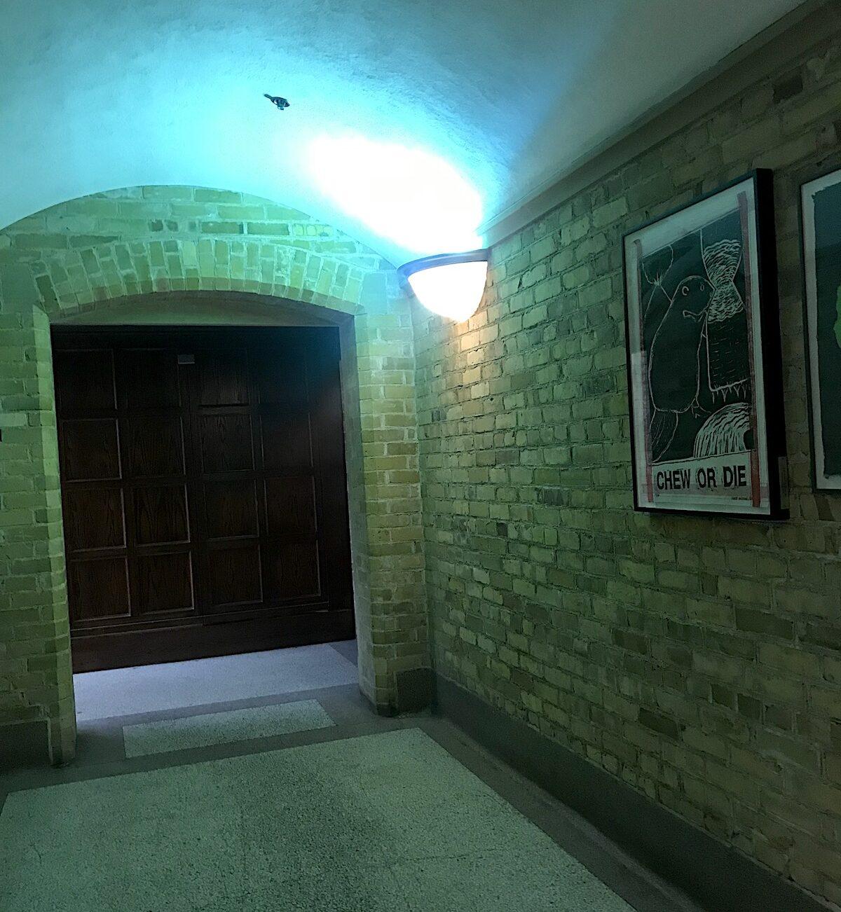 トロント大学のキャンパスでハリーポッターみたいな廊下