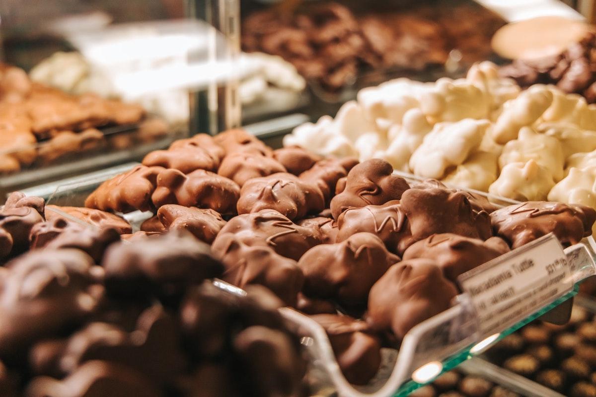 いろんな味のチョコレート