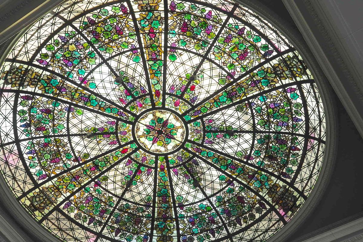 トロントのカサロマの綺麗な天井