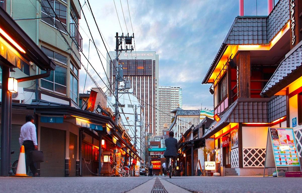 j-townで日本を味わう