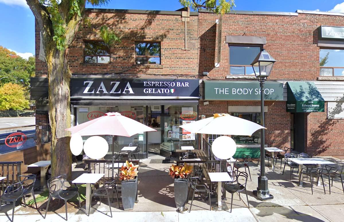 トロントのZaza Espresso Bar & Gelato