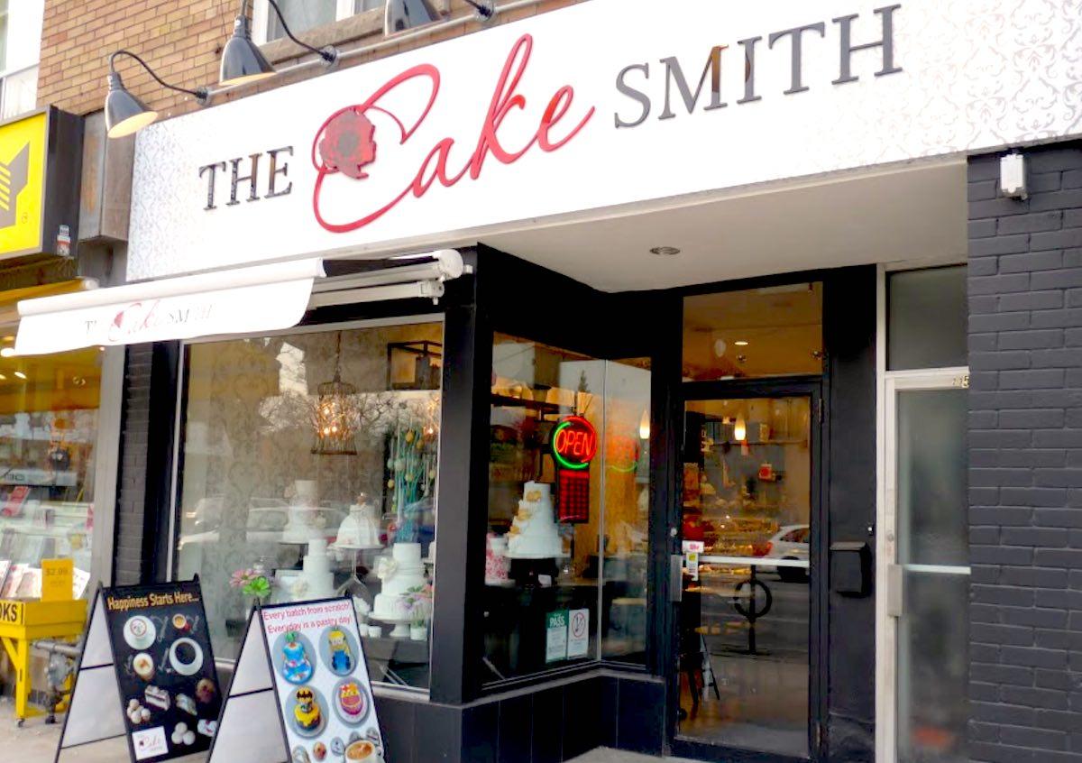 トロントのブロアーウェストビレッジ「The CakeSmith inc」
