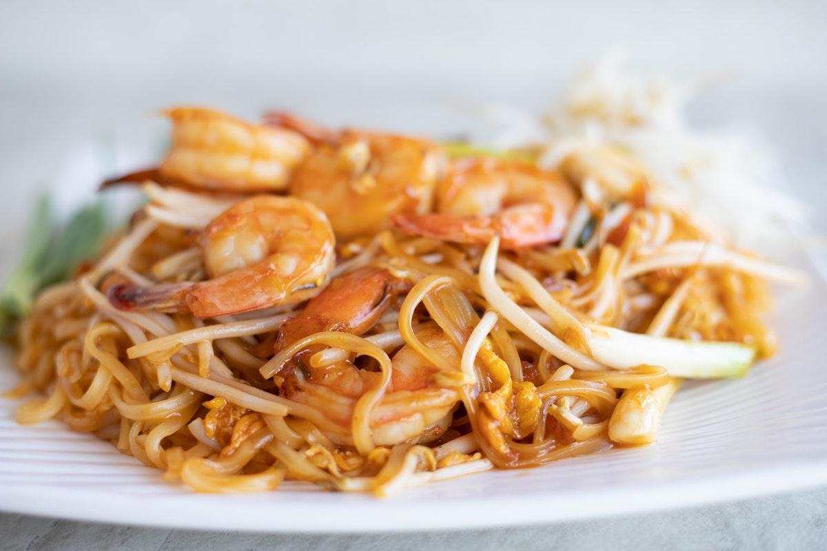 Simply Thai Cuisineのパッタイ